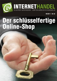 INTERNETHANDEL Titelblatt Nr. 92 Der schlüsselfertige OnlineShop