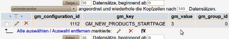 Produkte auf der Startseite ändern - Gambio GX2