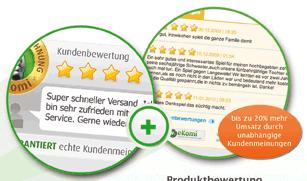 ekomi und weitere Kunden-Gütesiegel für Onlineshops