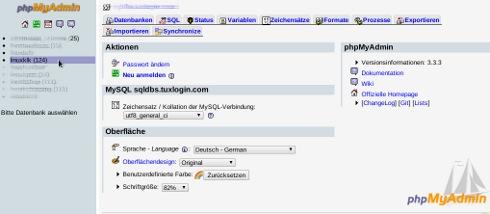Shop Backup mySQL Datenbenken und Software sichern