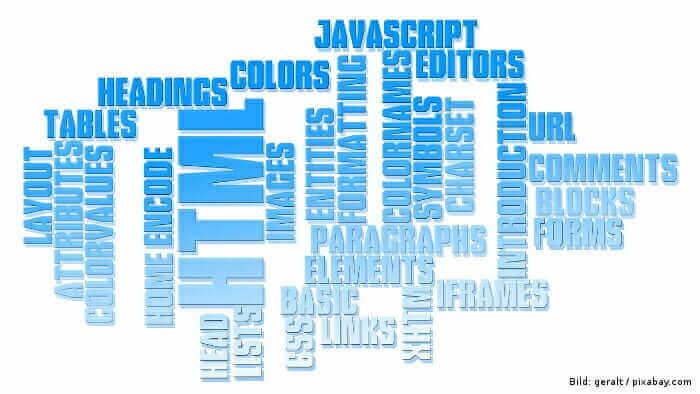 Webdesign Begriffe erklärt