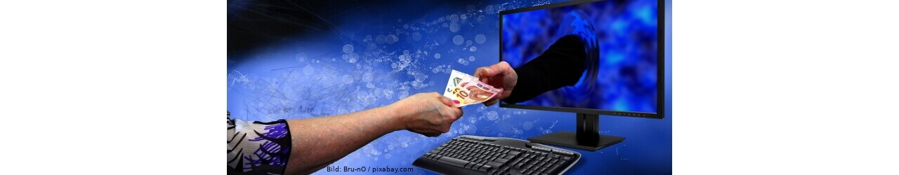 Zahloptionen beim Onlineshopping