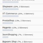 Beste Shop-Software 2011 – die Entscheidung