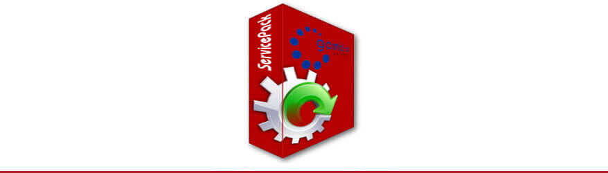 Master-Updates und Service-Updates für Gambio GX3