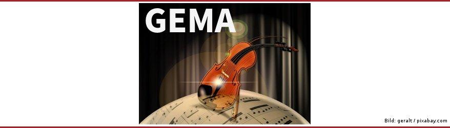 GEMA-Gebühren - Musik im eigenen Online-Shop anbieten oder abspielen