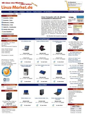 Gambio-Shop - linux-market.de