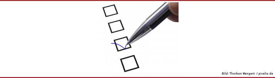Fragebögen und Umfragen als Erfolgsfaktor